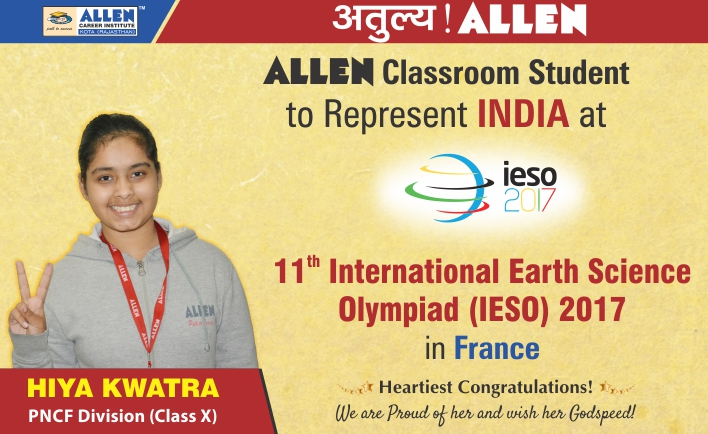 IESO Olympiad Result by ALLEN